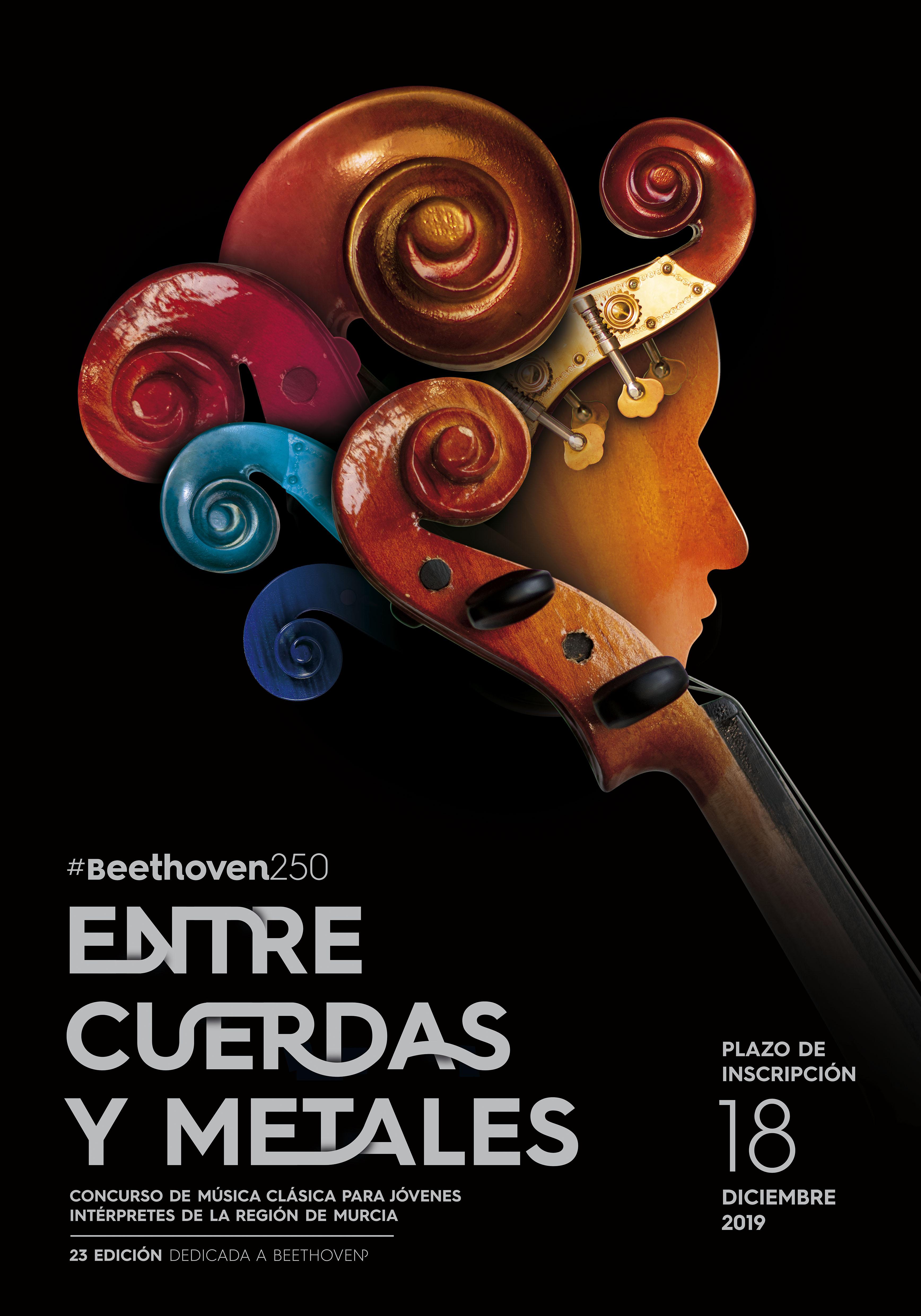 Cartel Inscripciones XXIII Edición Entre Cuerdas y Metales
